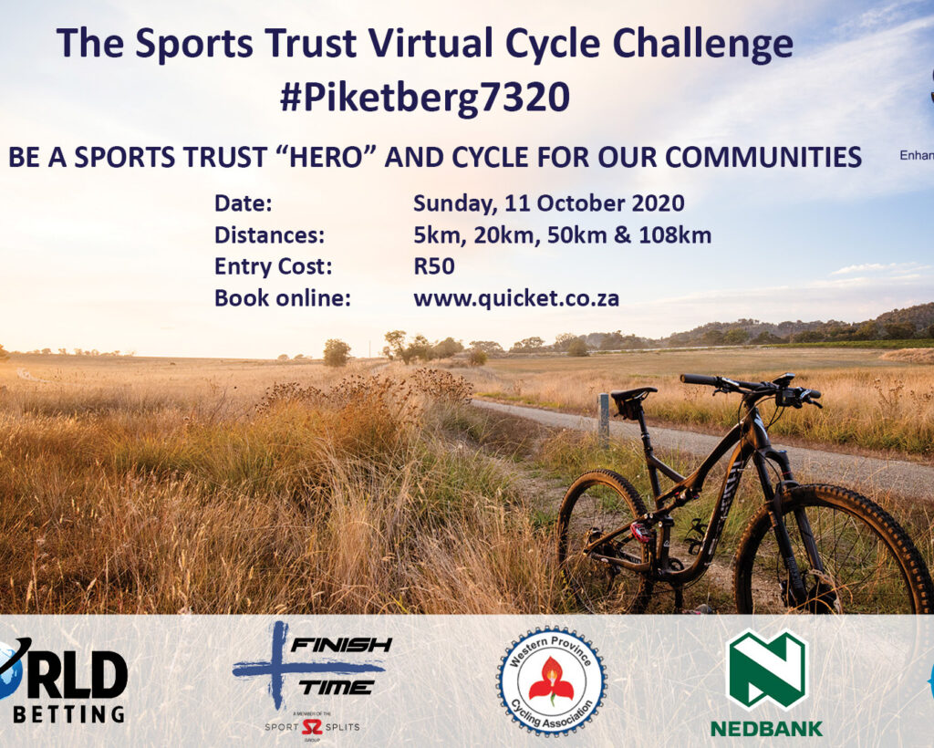 Sports Trust Launches Virtual Cycle Challenge