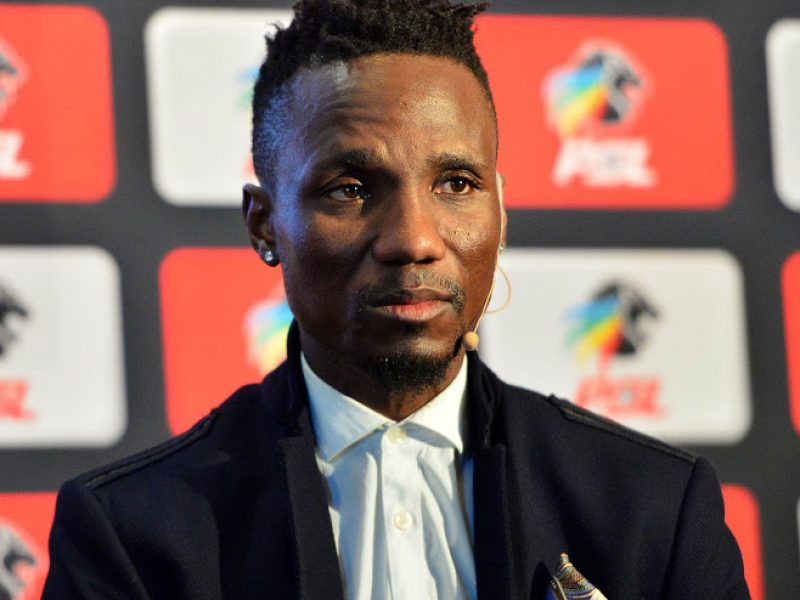 Teko Modise of Cape Town City during the PSL Awards Nominations at PSL Offices, Johannesburg on 21 May 2018 ©Samuel Shivambu/BackpagePix